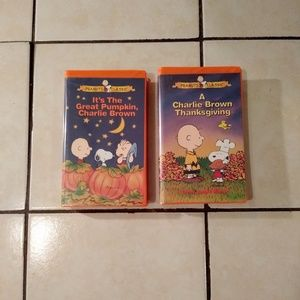 Other - Charlie Brown Thanksgiving and Halloween classics